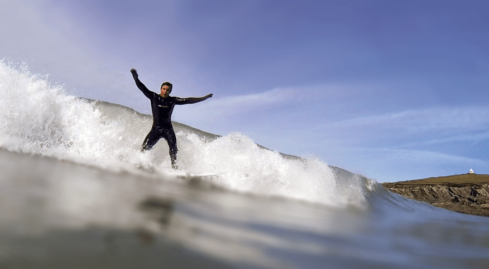 Immersive Video Production Action Camera 360 VR Drones Plymouth. Luke Dillion UK Surf Champion.