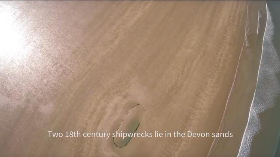 Devon Wrecks- Westward Hoe wreck