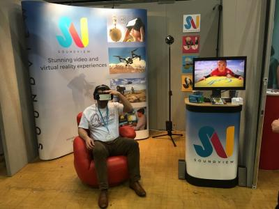 Sharing our VR video experience at the Devon Business Show