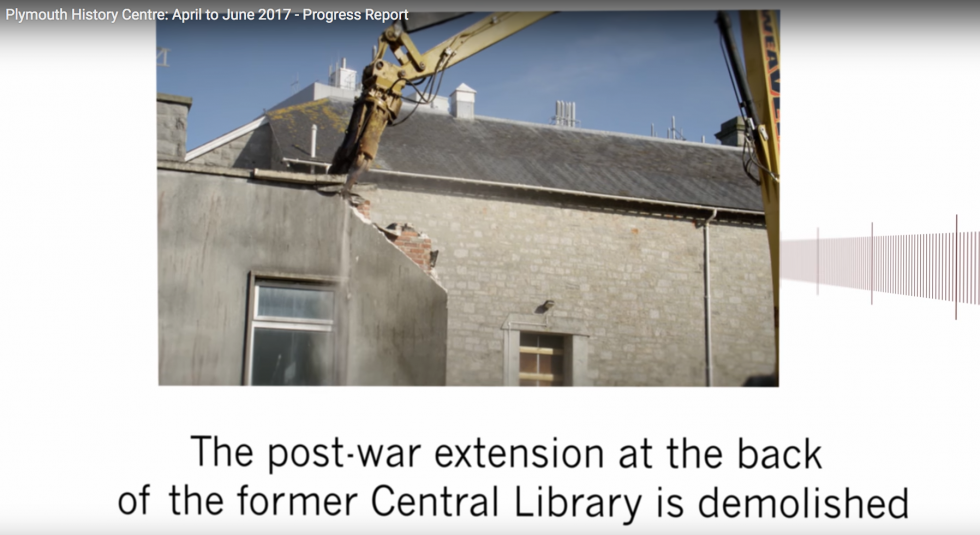 Making progress: our video for the Plymouth History Centre