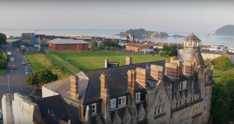 Ocean City film for the Duke of Cornwall Hotel