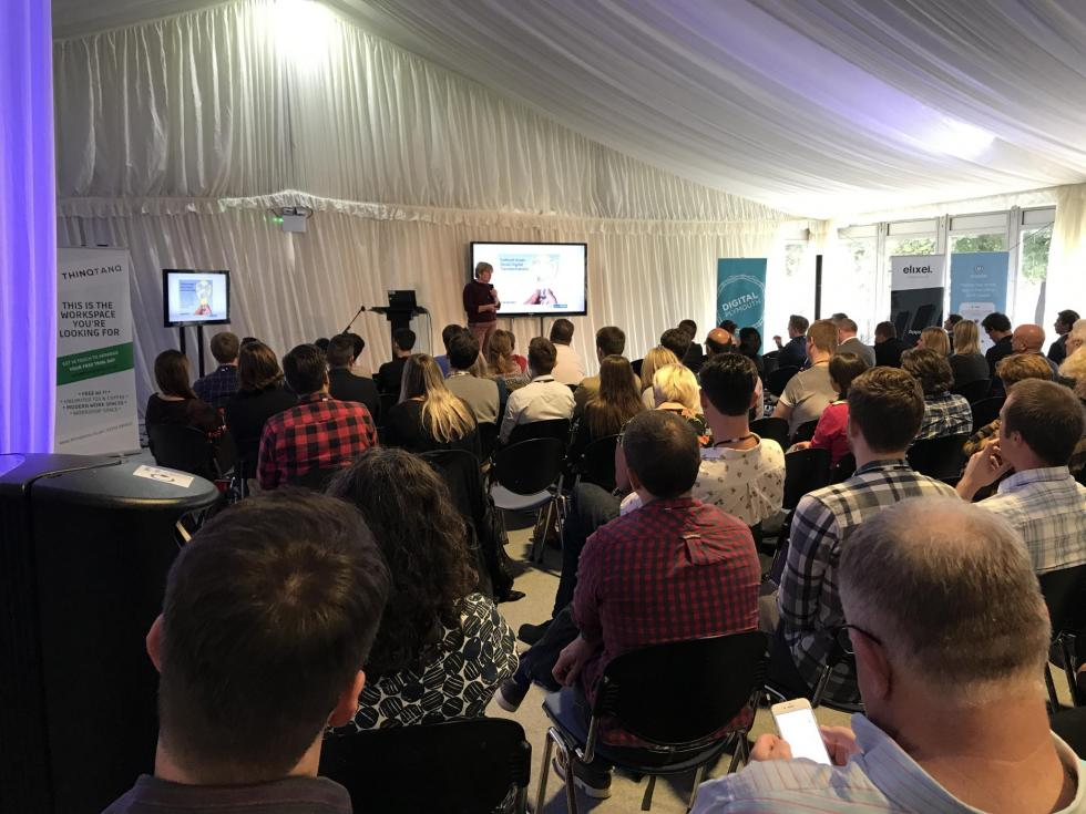 Our VR Video talk at Digital Plymouth Conference
