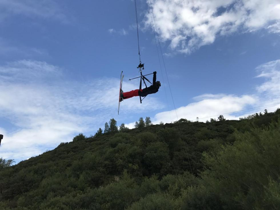 Eddie the Eagle Takes to the Air at Hangloose