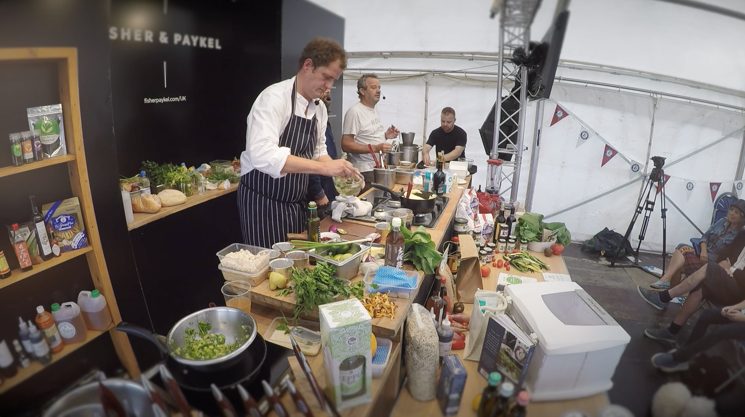 Visit Foodie Dorset Promotional video South West. Chef's showcasing their talent with local produce.