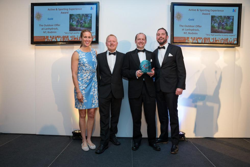 Lucky Us: Cornwall Tourism Awards and Gold Medals